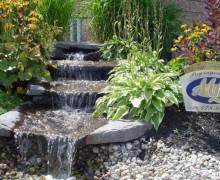 Fontaine cascade